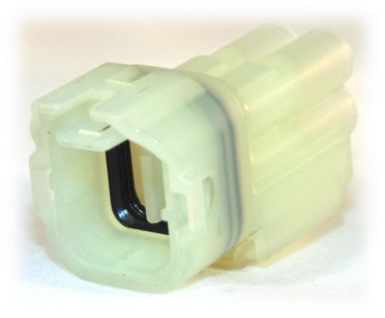 4 Way Sumitomo HM Series Male Connector Housing