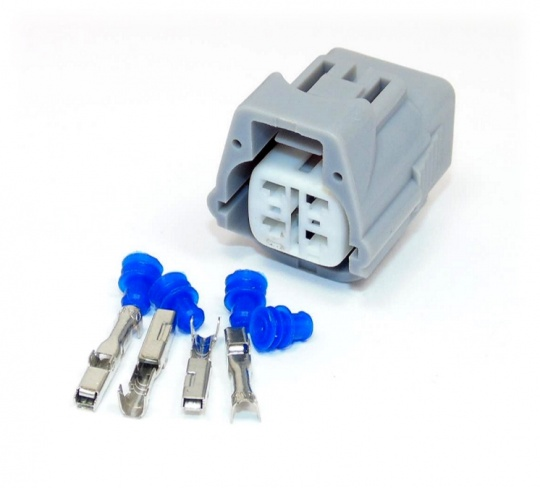 4 Way Yazaki Sealed 2.2 Series Connector Kit inc. terminals and seals