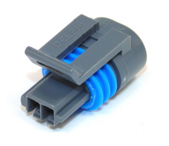 2 Way Delphi 150.2 Series Connector Female Grey