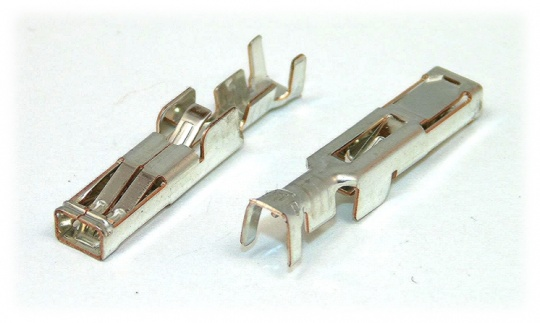 TE Hybrid Mini Drawer Series Crimp Contact, Female, 0.5-1.25mm², 20-16AWG