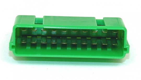 20 Way Sumitomo HM Series Green Splice Connector Male