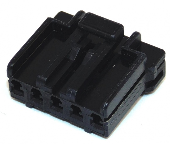 5 Way TE Connectivity Multilock Black Female