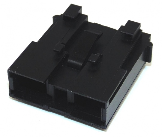 2 Way Fuse Maxival Holder With Secondary Lock Black Female
