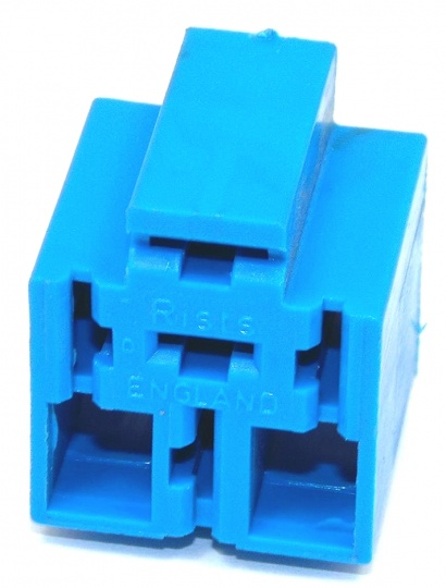 5 Way Lucas Rists Blue Relay Base Holder Blue