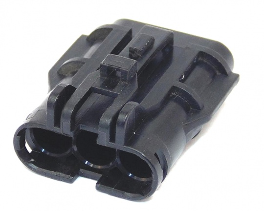 3 Way YAZAKI SWP Connectors 1.8mm(070) Female Black