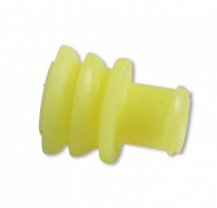 Wire Seal, TE Connectivity AMP Superseal 1.5, Yellow, 14-20awg