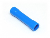 Insulated Butt Splice, Blue, 16-14awg