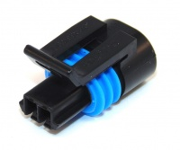 2 Way Delphi 150.2 Series Connector Female Blk