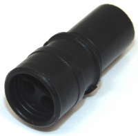 3 Way ITT Cannon Sure-Seal Circular Connector Plug Black