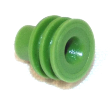 Wire Seal, Delphi, 1.29-1.7mm Cable OD, Green
