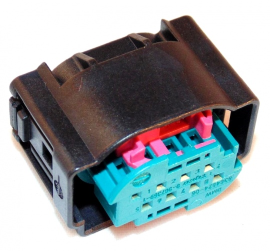 Housing, 8 Way, TE, MQS, Kit inc Terminals and Seals