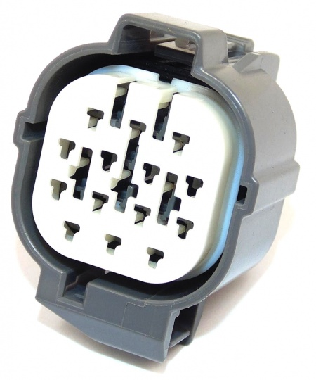 14 Way Sumitomo HW Series Connector Grey Female
