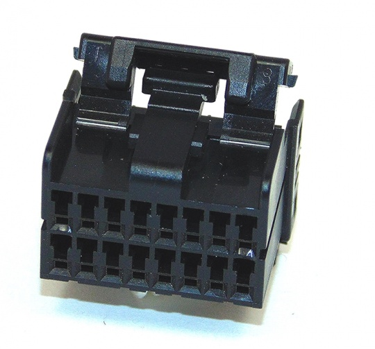 16 Way TE Connectivity Multilock 040 Black