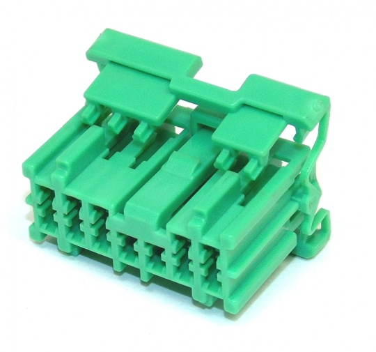 12 Way Sumitomo HD Series 2.3mm(090) Green Female