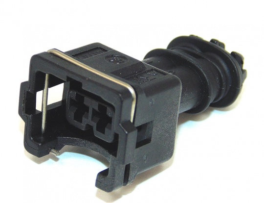 2 Way TE Connectivity Timer Black Female
