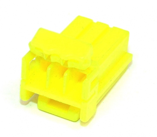 3 Way TE Connectivity Multilock 070 Yellow Female
