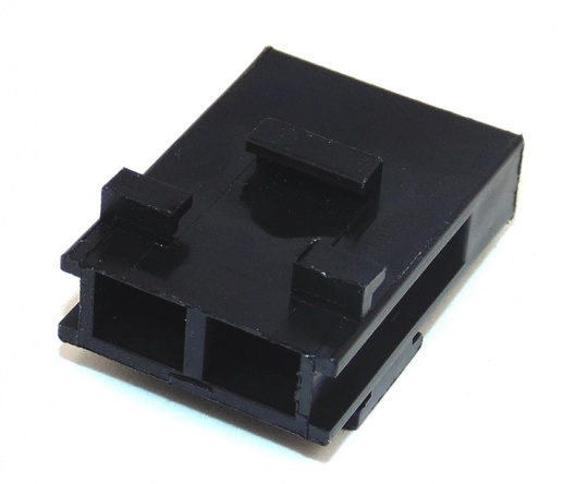 2 Way Lucas Rists Blade Fuse Holder Black