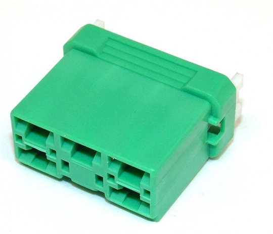 5 Way Sumitomo HD Series 6.0mm(250) Green Female