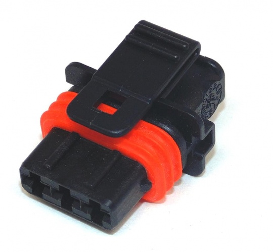 3 Way Bosch Compact 1 Plug Code 1 Black Female