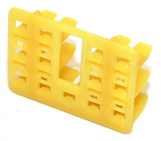 13 Way TE Connectivity Econoseal 070 Anti-Backout Yellow