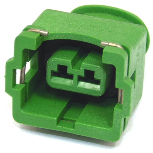 2 Way TE Connectivity Junior Timer Female 2.8mm Green