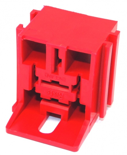5 Way Lucas Rists Red Relay Base Holder