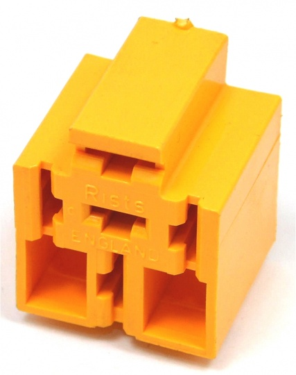 5 Way Lucas Rists Yellow Relay Base Holder