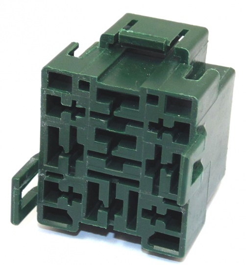 9 Way Lucas Rists Green Relay Base Holder