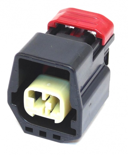 2 Way YAZAKI YES/YESC Connector 1.5mm(060) Female Black