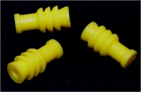 Wire Seal, Tyco, MQS, Yellow, 24-22awg