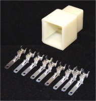 Sumitomo 9 way MTW Series 2.8mm(110) Male Natural Inc. Terminals