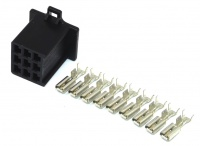 Sumitomo 9 way MTW Series 2.8mm(110) Female Inc. Terminals