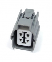 4 Way Sumitomo HW Series Connector Grey Female