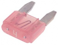 LittelFuse MINI Blade Fuse 32V 4A Pink
