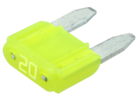 LittelFuse MINI Blade Fuse 32V 20A Yellow