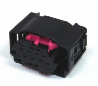 Housing, 8 Way, TE, MQS Black & Pink Code B