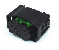 Housing, 8 Way, TE, MQS Black & Green Code B
