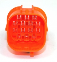 14 Way Sumitomo HW Series Connector Orange Male