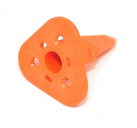 3 Way DEUTSCH DT Wedge Lock Orange