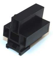 4 Way TE Connectivity Relay Connector Female Black