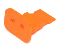 2 Way Deutsch DT Series Orange Wedgelock