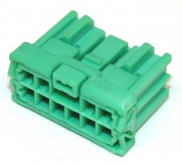 10 Way Sumitomo HD Series 2.3mm(090) Female Green