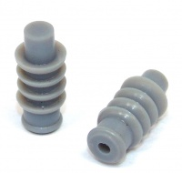 TE Connectivity Econoseal 3 Grey Cavity Rear Plug