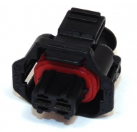 2 Way Bosch Compact 1.1a 2.8mm Female Black Code 1