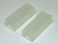 1 Way Female Terminal Cover 4.8mm Clear