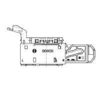 Bosch Female 154P-E EMS Contact Housing 58 Way Code A Exit left 1.2/2.8mm